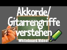 Akkorde Aufbau - Gitarrenakkorde verstehen - Gitarrenakkorde - YouTube