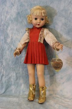 "Vintage 18"" Effanbee Honey doll 1950s"