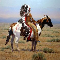 native american indians Dreams of Glories Past Native American Face Paint, Native American Horses, Native American Warrior, Native American Paintings, Native American Pictures, Native American Beauty, Native American Artists, American Indian Art, Native American History