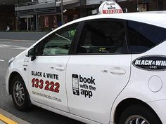 Tactile Taxi Signs Black and White Cabs Brisbane White Cab, Black And White, White Books, Say Hello, Taxi, Brisbane, Signs, Black N White, Black White