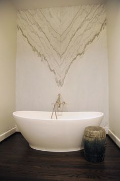 Gorgeous freestanding tubs, stunning walkthrough showers, elegant vanities, sublime marble and tiles, jewel-like hardware … the only thing better than a luxurious at-home spa session is one spent in an exquisitely designed space. Elegant Vanity, Free Standing Tub, Black Marble Tile, Bath Design, Cabinetry Design, Color Tile, Amazing Bathrooms, Gold Fixtures, Bathroom Renovation