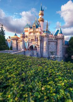 Castle in Disneyland, CA. I could have stayed in Disneyland forever. Disney Dream, Disney Love, Disney Magic, Disney Disney, Disney Stuff, Disney Trips, Disney Parks, Walt Disney World, Disneyland Resort
