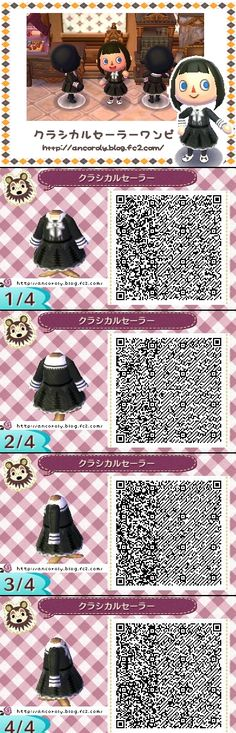 Animal Crossing New Leaf classic sailor outfit