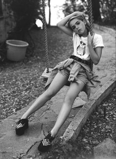 Kiernan Shipka by Lauren Dukoff.  I love seeing this young actresses with so much style and grace!