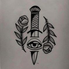 tattoo design available - traditional tattoo drawings Flash Art Tattoos, Retro Tattoos, Wrist Tattoos, Body Art Tattoos, Sleeve Tattoos, Future Tattoos, Tattoos For Guys, Black Tattoos, Small Tattoos
