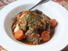 Slow Cooker Beef Pot Roast Recipe How To Make Beef Pot Roast In A Slow Cooker-11-08-2015