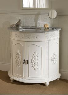 Bathroom Vanities Vintage Style double antique french vanity unit-genuine mdf, genuine price