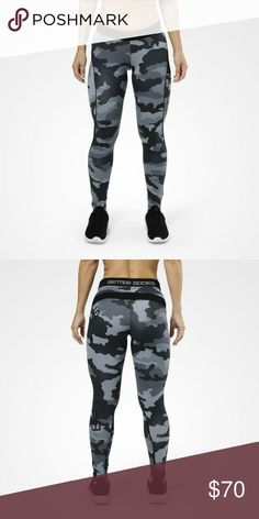 Better Bodies leggings Grey Camo soft material brand new never worn. better  bodies Pants Camo 9350f7b950f78