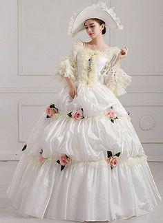 c9d1fdf0b063 FENIKUSU Women's Gothic Victorian Fancy Dress Prom Palace Masquerade Ball  Gown Costume #Clothing #lolita