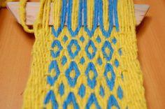 Ñe Luan Friendship Bracelets, Weaving, Detail, How To Make, Weaving Looms, Bands, Pattern, Closure Weave, Loom Weaving