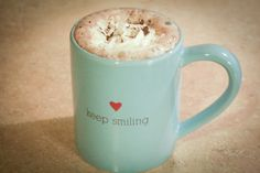 Keep smiling mug <3