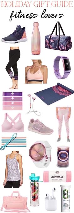 25 Holiday gift ideas for your favorite fitness fanatic! These fun, fitness finds are sure to be a hit with your favorite fit chick! Holiday Outfits, Holiday Gifts, Caravan Gifts, Fitness Gifts, Yoga Accessories, Fit Chicks, Teen Fashion, Womens Fashion, Fun Workouts