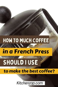 If you are using french press, you probably know what's the best coffee to make in this coffee equipment. In this article, you will learn how much coffee in a french press should I use to make the best coffee. //howmuchcoffeetouse// //frenchpresscoffee// //coffeerecipes// //homemadecoffee Coffee House Cafe, Coffee Equipment, French Coffee, Recipe Boards, Great Coffee, Coffee Lovers, French Press, Houses, Good Things