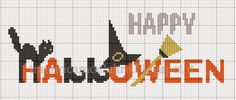 Halloween Sign • Orange and Black letters