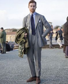 Whilst some may prefer to think of 'style' as an entity entirely separate to construction, fit and quality, often style is a derivation of these other facets. Take Jake Grantham for example - this soft tailored ensemble is characterised by a lack of 'structure' and rigidity - with unpadded shoulders, what appears to be a full cut waist and an obvious amount of room through the upper thigh and crotch, it has been designed on the premise of achieving comfort and functionality (albeit, whilst…