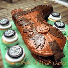 Cowboy Boot Cakes - Specialty Cakes, Birthday Cakes - Make A Wish Cakes By Sherri - Exeter, On