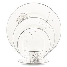 Chances are I'll never have Kate Spade china...but this pattern in awfully sweet.
