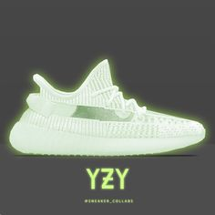 Image may contain: shoes Yeezy V2, Adidas Sneakers, Orange, Green, Shoes, Instagram, Fashion, Shoe, Moda