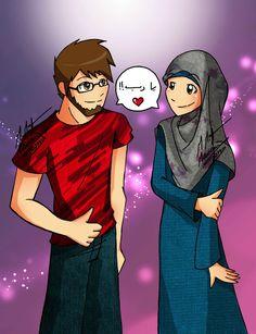 American girl dating muslim manga
