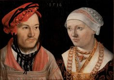 Artist: Brosamer, Hans, Title: Portrait of a Couple, Date: 1516