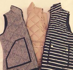 jcrew vests
