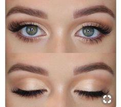 Do you love this moment for my bridesmaids - make up - . - Make-Up - Bird Makeup, Blue Eye Makeup, Cute Makeup, Bridal Makeup For Green Eyes, Easy Makeup, Simple Bridal Makeup, Light Eye Makeup, Makeup Glowy, Fair Skin Makeup
