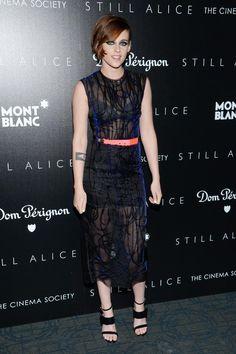 """Un sí rotundo al """"ahumado eléctrico"""" de Kristen Stewart en su última aparición"""