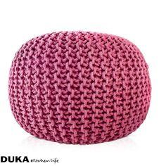 Pufa 40x40 cm różowa-dukapolska.com-31