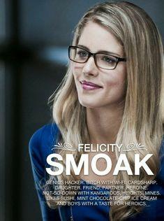 #Arrow - #FelicitySmoak