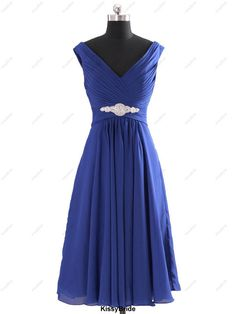 Short bridesmaid dress - royal blue bridesmaid dress / purple bridesmaid dress / red bridesmaid dress / short blue evening dress