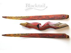 hand carved recurve bow