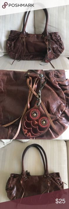Anna Sui bag Used leather Anna Sui bag  Signs of wear and tear but in good condition Anna Sui Bags Shoulder Bags