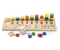 ABC og 123 lek   Sprell - veldig fine leker og barneromsinteriør