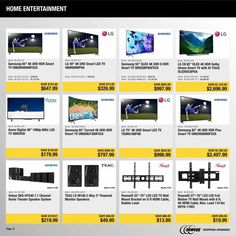 Newegg Black Friday 2018 Ads and Deals Browse the Newegg Black Friday 2018 ad scan and the complete product by product sales listing. Friday News, New Egg, Black Friday Ads, Weekly Ads, 4k Uhd, Home Entertainment, Coupons, Entertaining, Digital