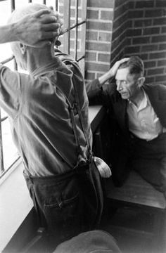 Alfred Eisenstaedt's photos from Pilgrim State Hospital in the late 1930s blended clear-eyed reporting with an almost palpable compassion.