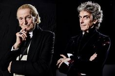 """All of what's gone before me is visible in my Doctor. I hope I connected him with his past. This takes me back to my childhood where Doctor Who began for me. It reminded me what that felt like, seeing David (Bradley) as William Hartnell. To me as a 6 or 7 year old, he was Doctor Who. Amazing."" - PC"