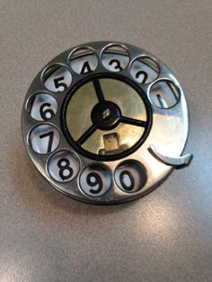Automatic-Electric-034-Mercedes-034-Dial-for-use-with-stair-step-base-candlestick