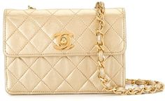 1990 Mini Diamond Quilted Chain Crossbody Bag Chain Crossbody Bag, Diamond Quilt, Chanel, Shoulder Bag, Mini, Classic, Bags, Derby, Handbags