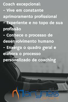 Quais as características de um Coach Excepcional?