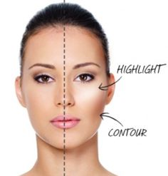 Contouring is the application of makeup on your face to help define your face shape, and makes you to appear as if you have a slimmer...