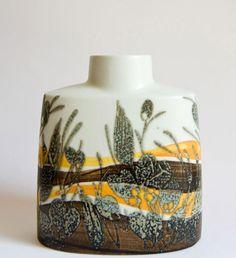 Danish pottery vase.