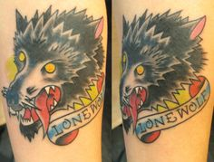 Collection of free Wolf Tattoo from all over the world. 3d Wolf Tattoo, Wolf Tattoo Design, Wolf Tattoos, Tattoo Designs, Knuckle Tattoos, 3d Tattoos, Wolf Warriors, Design Art, Free