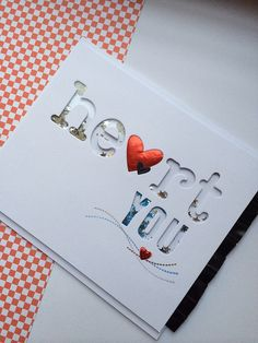 Lawn Fawn - Louie's ABCs, Cole's ABCs _ Super clever Heart Shaker Card! by Keren viaFlickr - Photo Sharing!
