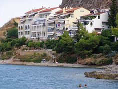 Nafplion vacation condo rental: Waterfront top 2 floors in Kiveri with stunning views