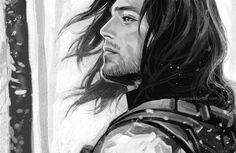 My favorite fanart of Bucky. This is so awesome. I wish I could draw like this.<<< this is so beautiful