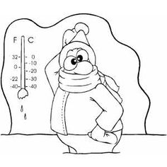 cold weather coloring pages   sweating clipart - Google Search   Excessive Sweating ...