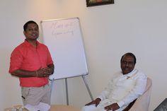 Dr. G.B.K. Rao and the Host Prakash Rao Sunkara during the Meet Up
