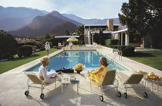 California's Poolside Glamour Captured in New Palm Springs Exhibition