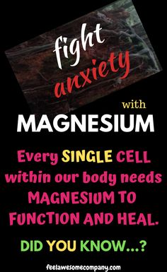 Studies show that low magnesium intake and absorption can have a direct effect on both stress and an Brain Healthy Foods, Brain Nutrition, Brain Food, Healthy Tips, Low Magnesium, Magnesium Benefits, Anxiety Relief, Stress And Anxiety, Foods For Depression