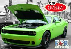 Sublime Green Dodge Challenger Hellcat